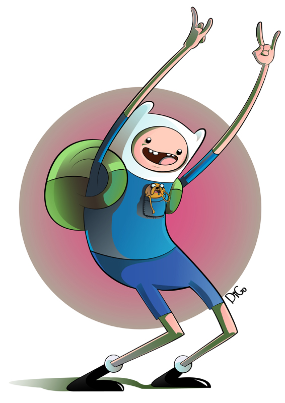 Finn and Jake – Vector