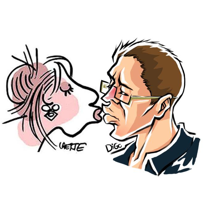 Beijaço no Laerte
