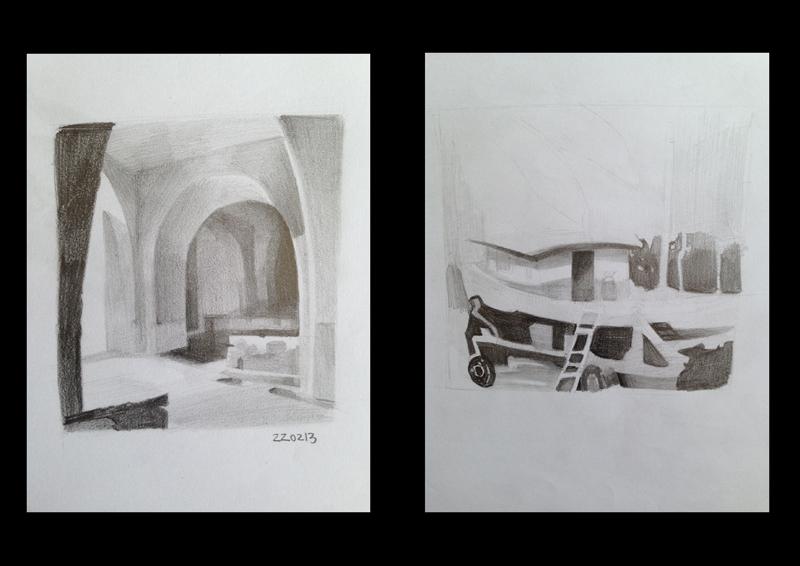22/02/13 – Estudo de Grafite – Referência Fotográfica