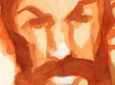 260413 – Estudo com aquarela - Rosto (miniatura)