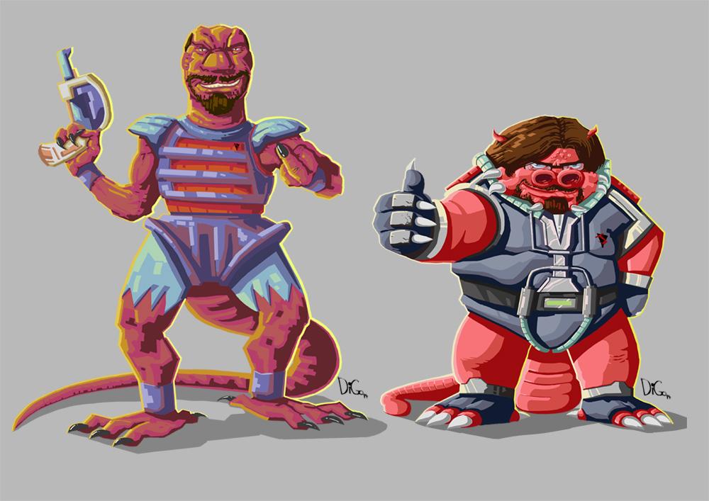 Nerdcasters de Dinousaucers.